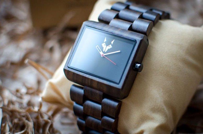 Gamme de montres en bois SandalWood présentation